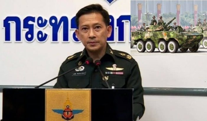 """Thai Army Uses """"National Security"""" to Justify Bt 2.3 Billion Purchase of Armoured Personnel Carriers"""