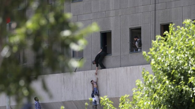 Islamic State Suicide Bombers and Gunmen Storm Iran's Parliament Killing 12 and Wounding Dozens