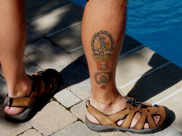 Man Dies after Swimming with New Tattoo