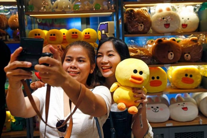Line Messaging Digital Theme Park to Open in Bangkok