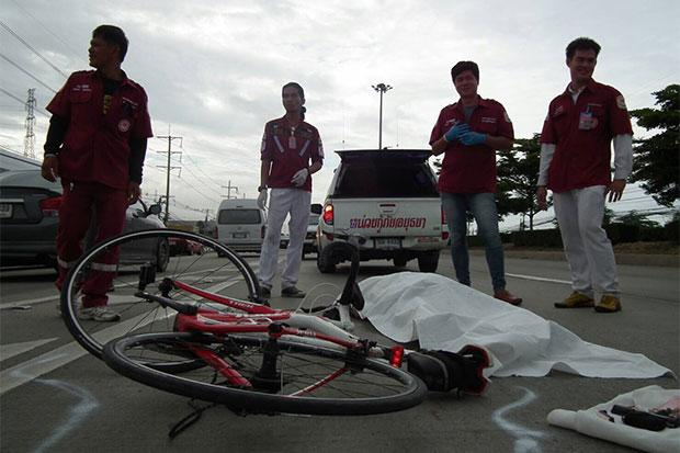 42 Year-Old Australian Cyclists Stuck and Killed by Motorcycle in Ayutthaya, Thailand