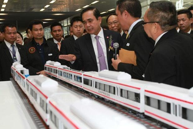 Thailand's Prime Minister Vows to Force through China Railway