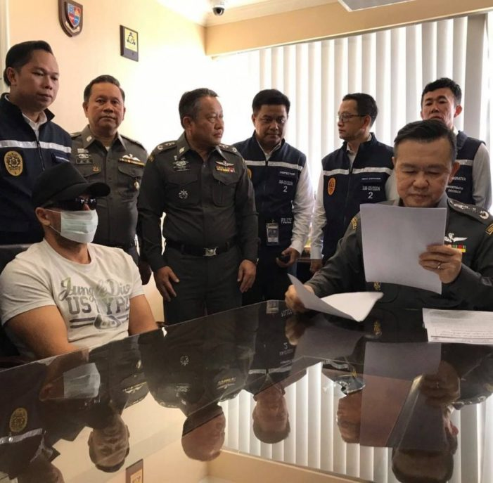Five Foreign Criminal Suspects Nabbed in Thailand