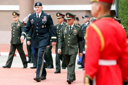 The Head of the U.S. Army Pacific in Bangkok Amid Regional Security Concerns