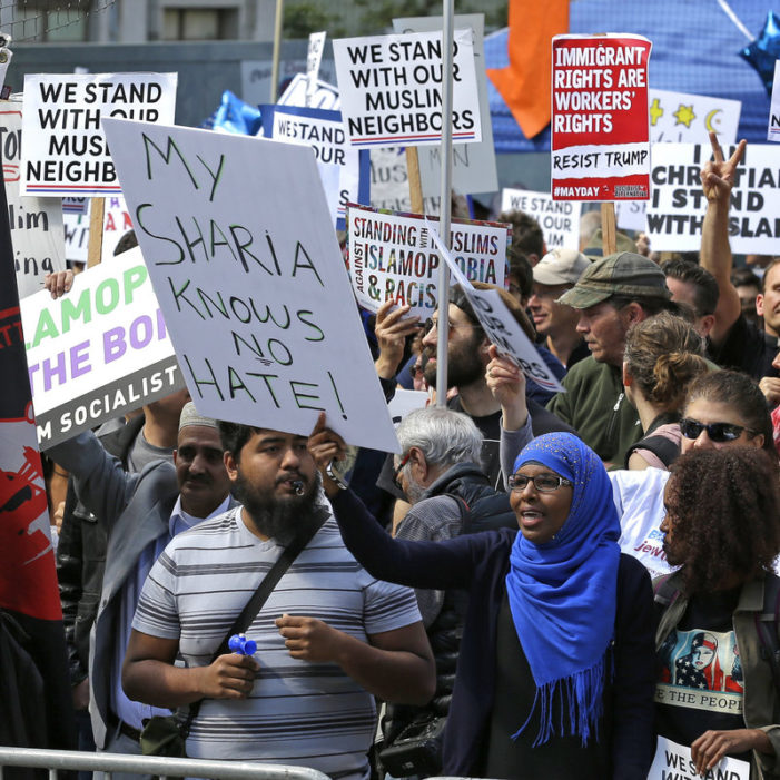 'Anti-Sharia' Marchers Met With Counter-Protests Around USA