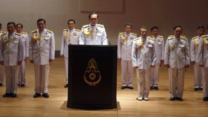 Thailand's Generals Pass Bill Consolidating Power for Next 20 Years