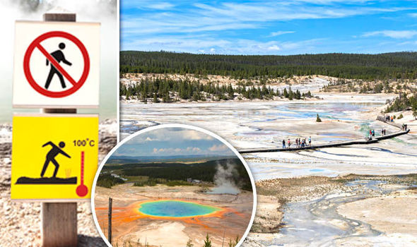 Man Severely Burned after Falling in Yellowstone Hot Spring