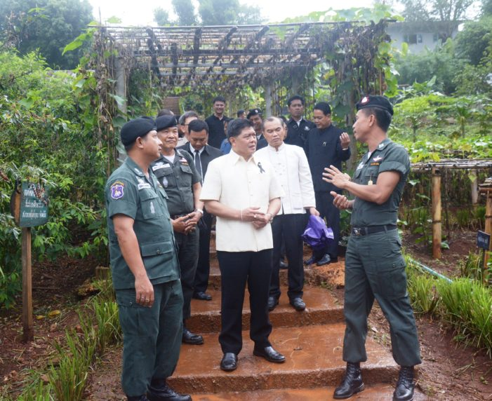 Permanent Secretary for the Prime Minister's Office Visits Community Projects in Chiang Rai