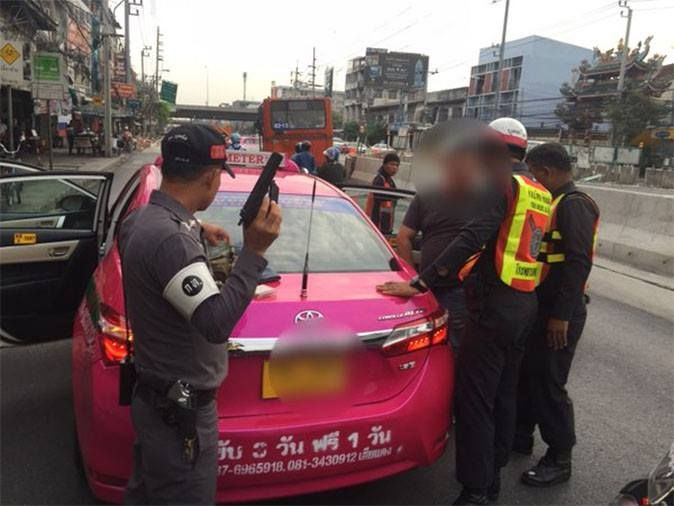 Fake Bangkok Taxi Driver Arrested over Rape and Robbery of Chinese Tourist