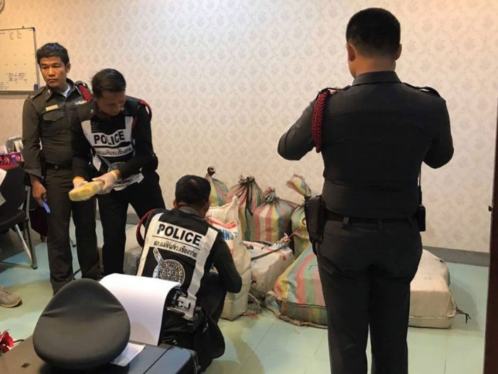Two Million Meth Pills Seized in Chang Sean by Border Police
