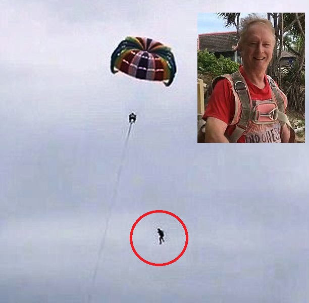 71 Year-Old Australian Falls to His Death Parasailing in Phuket Thailand