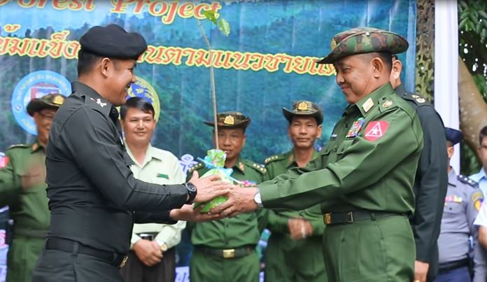 Thailand and Myanmar Strengthen Bilateral Ties Through Joint Reforestation Campaign Along Chiang Rai Border