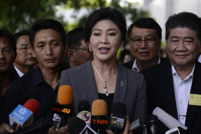 Former Thai Prime Minister Yingluck Shinawatra Lashes Out at Military-Installed Government