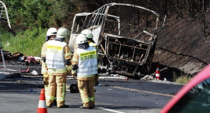 18 Dead, 30 Injured in Fiery Bavarian Bus Crash