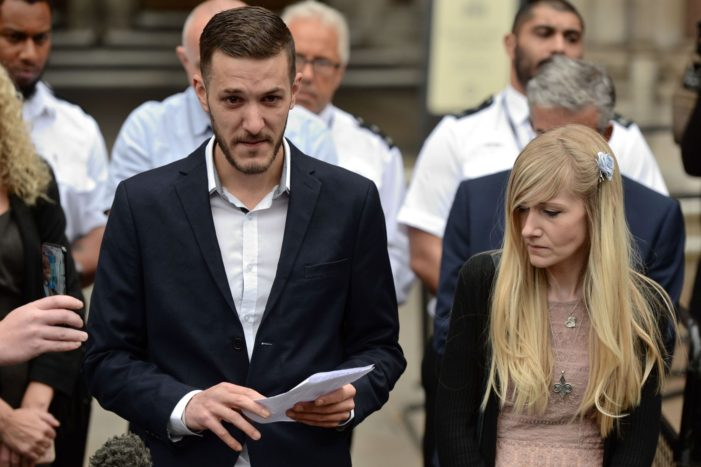 Parents of Baby Charlie Gard ask British Court to Let them take him Home to Die