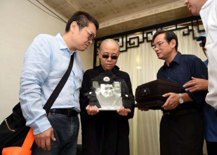 Chinese Says Nobel Laureate Liu Xiaobo Cremated and His Wife is Free