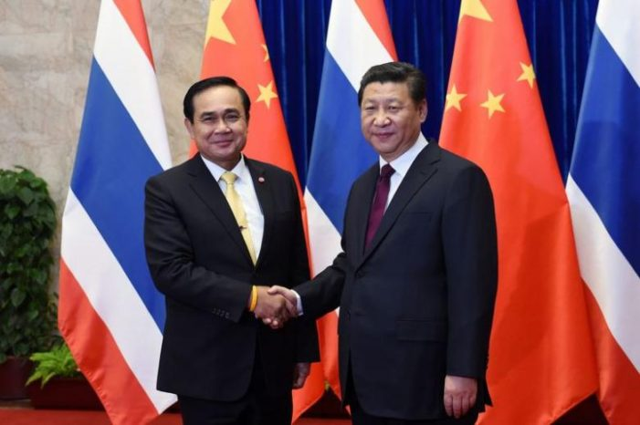 """""""Made in China"""" Thailand's Junta Government Moves Closer to Beijing"""