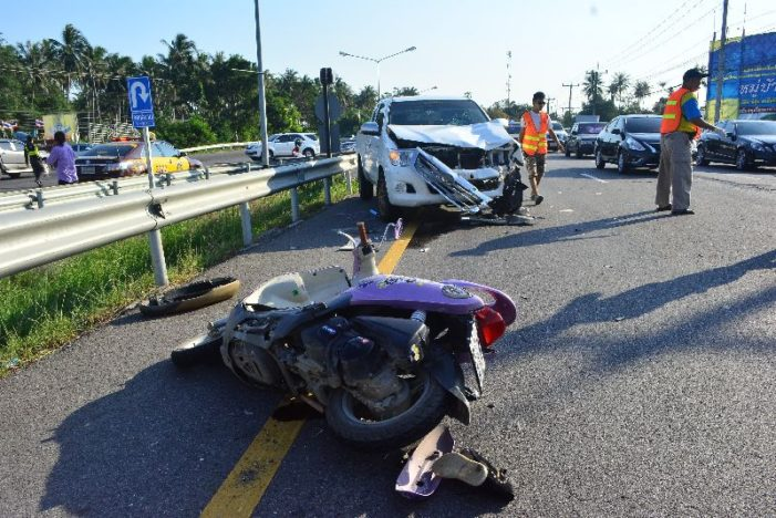 Thailand's Don't Drive Drunk Foundation Reports Nearly 8000 Killed in Road Accidents this Year