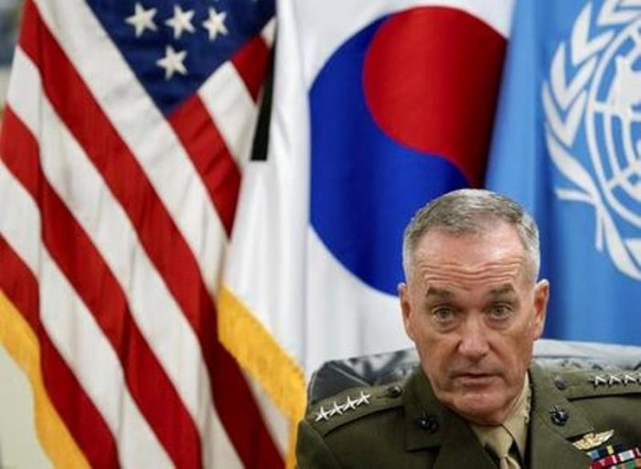 Top US General Warns North Korea that US Military Ready