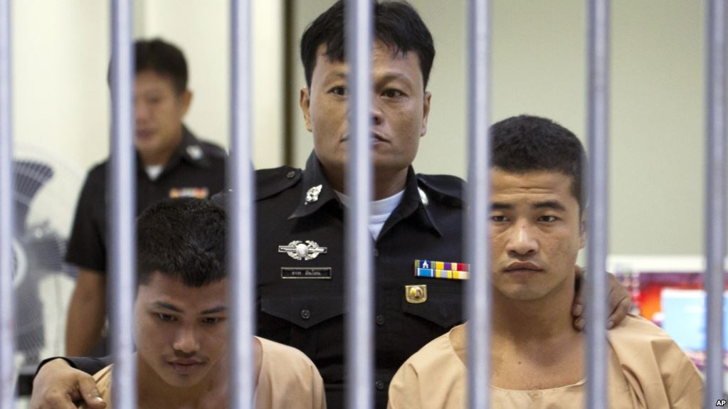 Pair convicted of killing British backpackers in Thailand submit final appeal