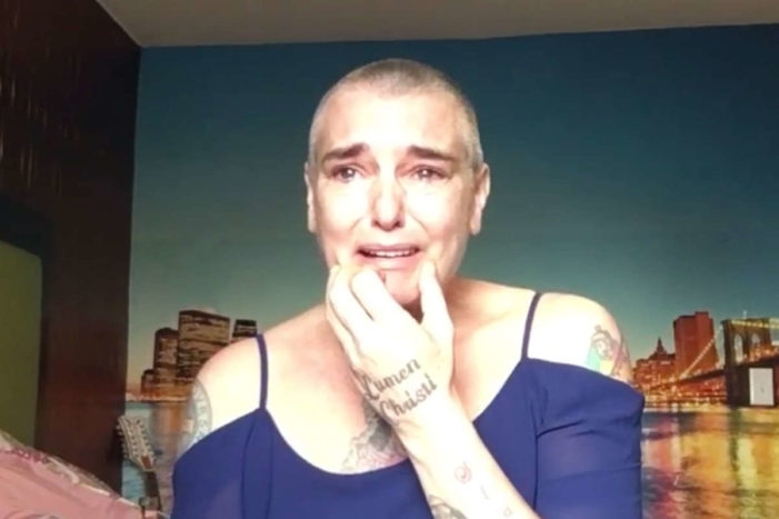 Sinead O'Connor Pleads for Help, Says She's Living in New Jersey Motel