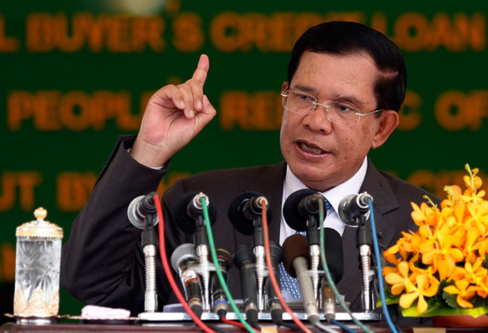 Cambodia PM Orders Cambodia Daily Newspaper to Pay Taxes or Close