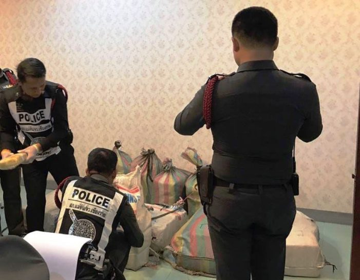Six Arrested in Two Separate Drug Bust in Chiang Rai, 5 Million Speed Pills and 200kg Ketamine Seized