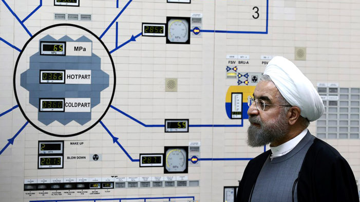 Iran's President Hassan Rouhani Threatens to Revitalize Nuclear Program