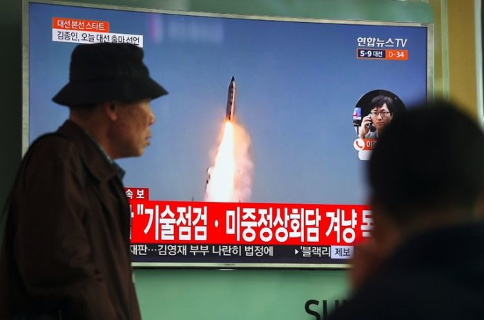 South Korea Braces for Another Possible North Korea Missile Test