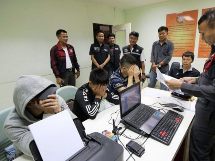 Three Taiwanese Nationals Arrested for Telecoms Fraud in Nakhon Ratchasima Province