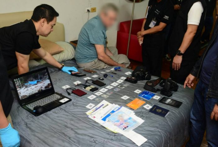 66 Year-Old American Arrested in Chiang Mai for Possessing Child Pornography