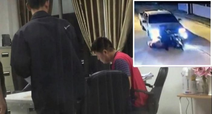 Chiang Rai Man Arrested for Hit and Run Causing Death After Video Shared on Facebook
