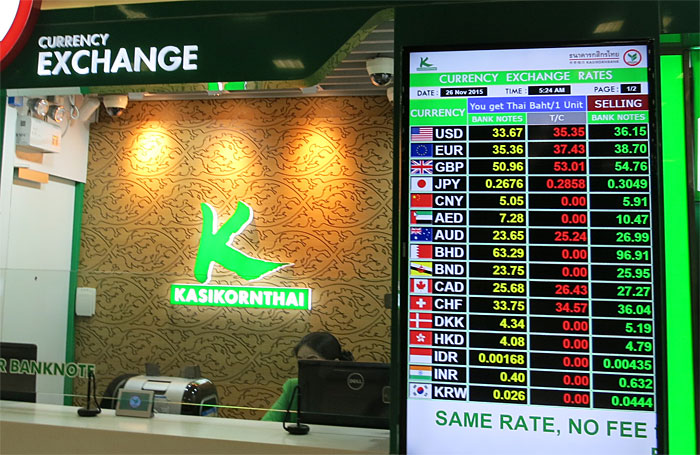 Thai Central Bank Steps in to Stop Rise of Thai Baht
