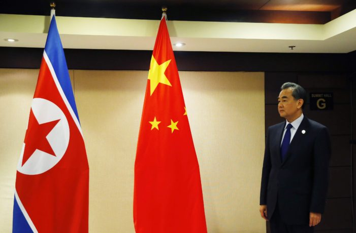 China Agrees U.N. Action, and Talks, Needed to End North Korea Crisis