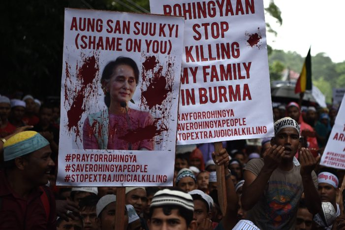 US Silent Amid talk of Ethnic Cleansing of Rohingya Muslims in Myanmar