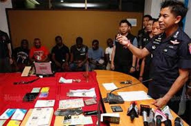 11 Foreigners Arrested in Bangkok for Transnational Crime and Overstay