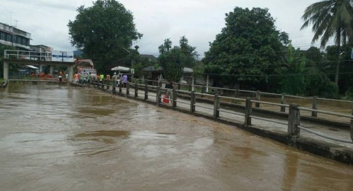Mae Chan River Breached its Banks Flooding More than 100 Homes