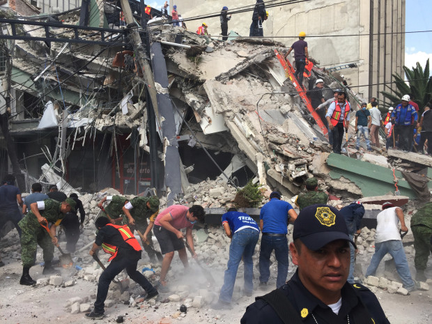 Rescue Efforts Continue after Mexico's Deadliest Earthquake