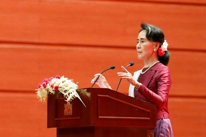 Myanmar's Suu Kyi Condemns Abuses in Rakhine, Military Accused of Ethnic Cleansing