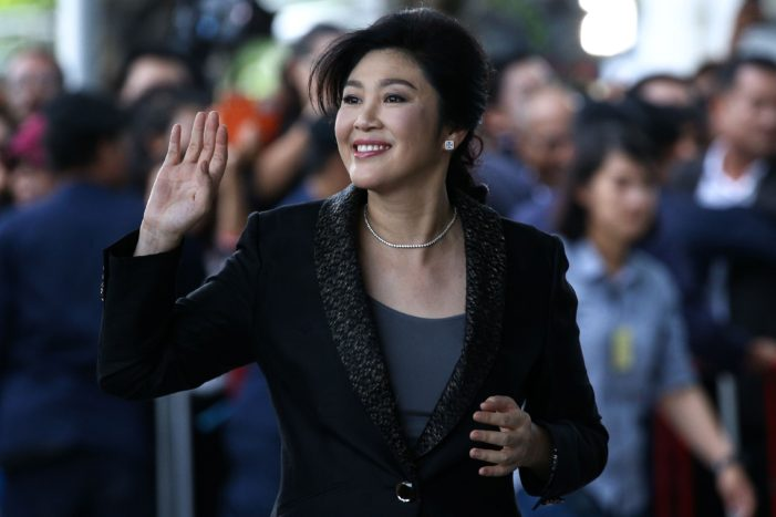 Former Thai Prime Minister Yingluck Shinawatra Now in London
