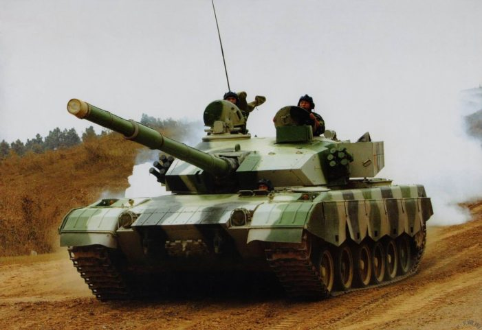 Thai Army Takes Delivery of Twenty-Eight VT4 Battle Tanks from China