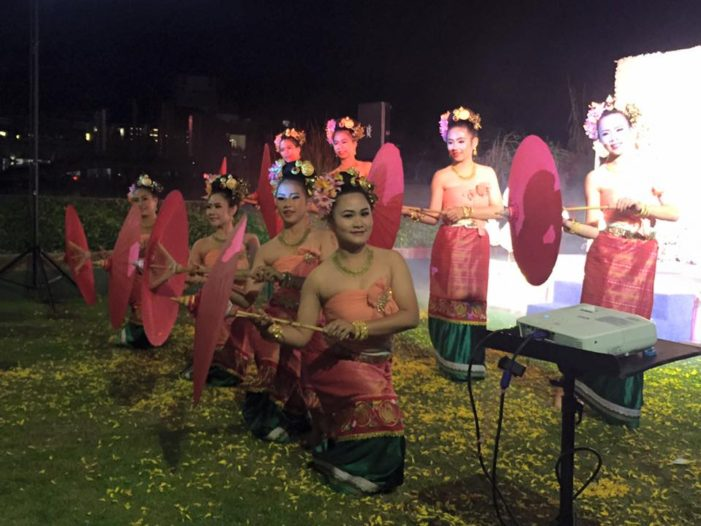 Chiang Rai Artist Rehears Traditional Dance for Royal Cremation Ceremony