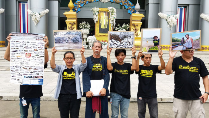 Chiang Rai's Conservation Group Rak Chiang Khong Takes Pak Beng Dam Fight to Thailand's Supreme Administrative Court