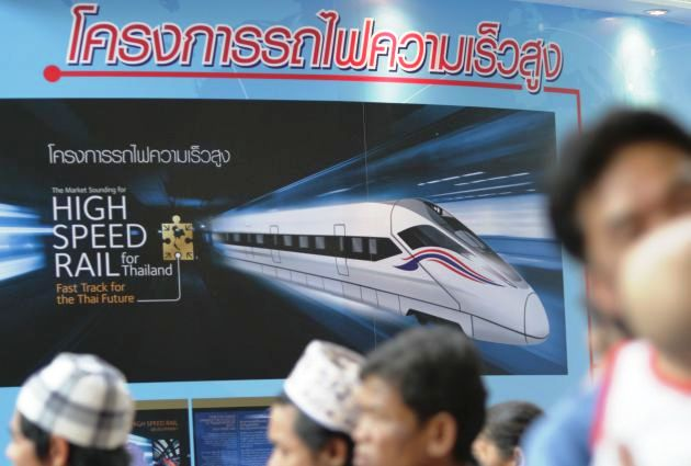 Construction of Thai-Chinese High-Speed Railway to Commence in November