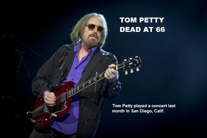 Rock Superstar Tom Petty Dead at Age 66