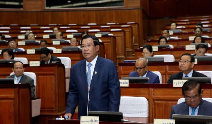 China Backs Cambodian PM's Decision to Dissolve Main Opposition Party
