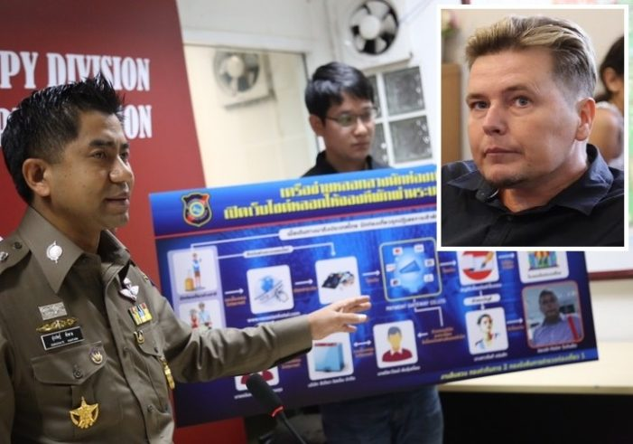 43 Year-Old Danish-Man Arrested for 20 Million Baht Hotel Booking Scam