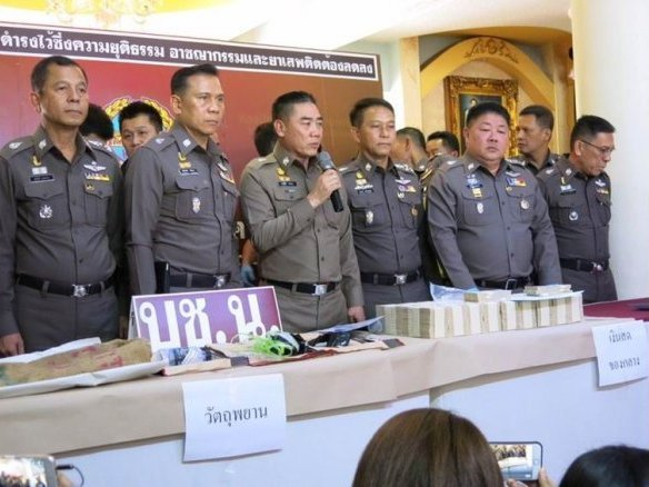 Five Arrested in 60 Million Baht Japanese Jewellery Trader Heist