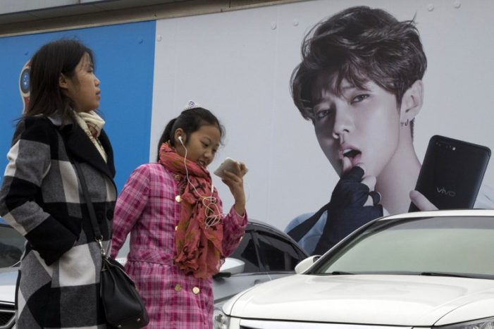 Chinese Propaganda Faces stiff Competition from Chinese Celebrities