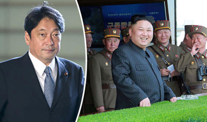 """Japan's Defence Minister Says North Korea's Threat has Grown to a """"Critical and Imminent Level"""""""